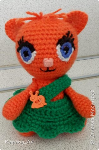 Какие же они милые, в каком бы ни были исполнении и технике)))) Кстати, моя первая игрушка)))  фото 4