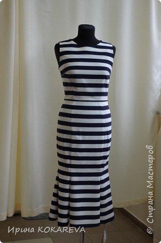 Платье из костюмной итальянской ткани р-р46 фото 1