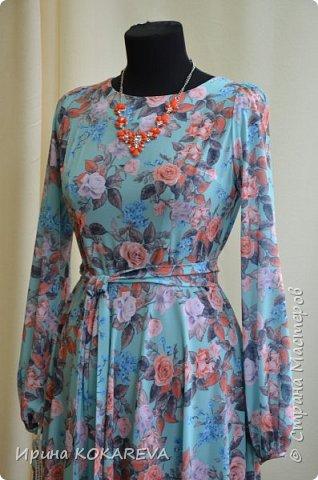 Платье из костюмной итальянской ткани р-р46 фото 2