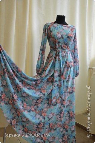 Платье из костюмной итальянской ткани р-р46 фото 3