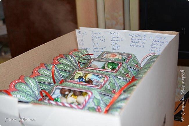 И опять опаздалочка, по той же причине, что и варежки, делала вот такие конфетки коллегам по работе, в колличестве 33 штук. фото 2