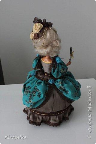 """Кукла-шкатулка """"Из грязи...в придворные дамы :)"""" фото 2"""