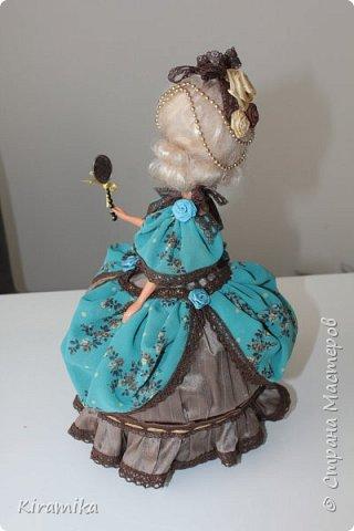 """Кукла-шкатулка """"Из грязи...в придворные дамы :)"""" фото 3"""