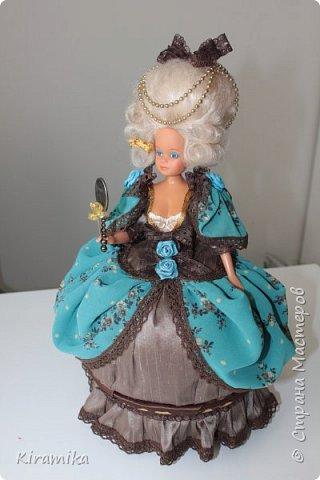 """Кукла-шкатулка """"Из грязи...в придворные дамы :)"""" фото 1"""