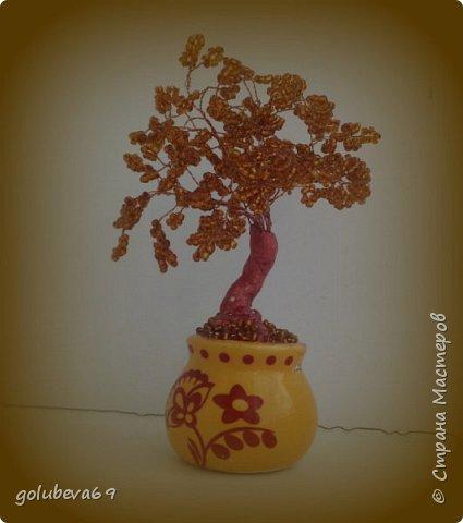Бронзовое деревце. фото 1