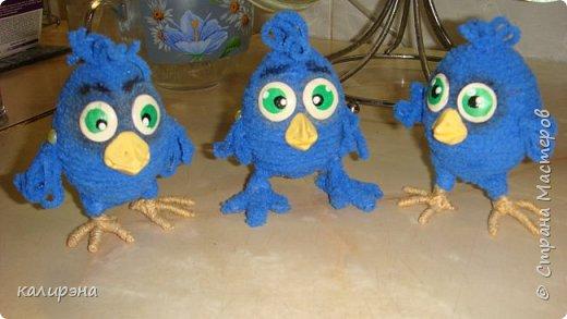 Задумывались птенчики Птицы Счастья. А получилось нечто... вдогонку к моим предыдущим цыплятам http://stranamasterov.ru/node/1015697 фото 4