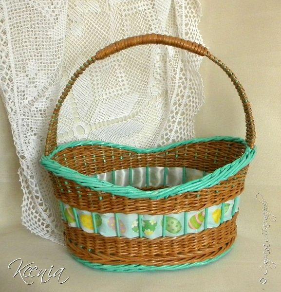Корзинка для кулича и яиц.  фото 1