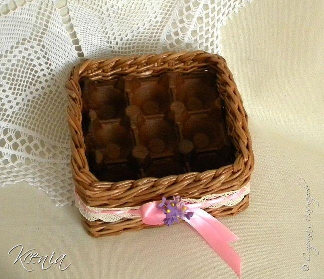 Корзинка для кулича и яиц.  фото 10