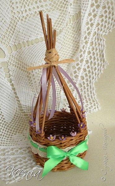 Корзинка для кулича и яиц.  фото 11