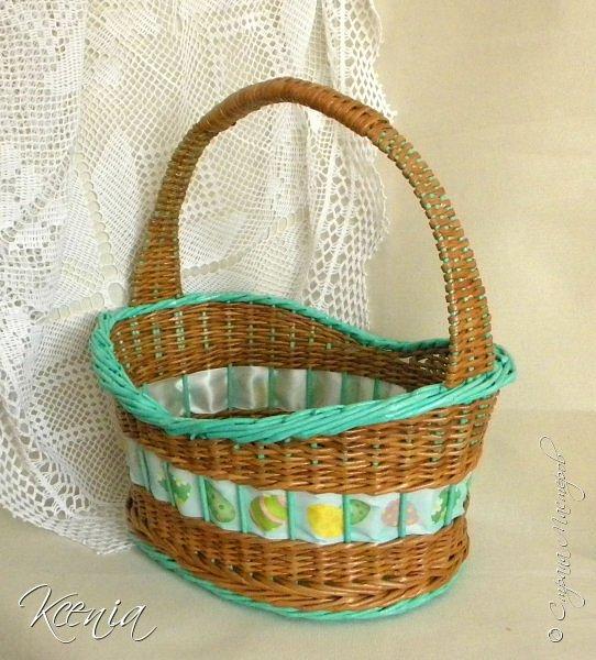 Корзинка для кулича и яиц.  фото 2