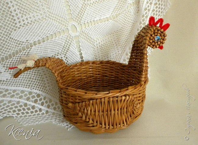 Корзинка для кулича и яиц.  фото 14