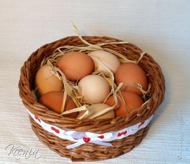 Корзинка для кулича и яиц.  фото 16