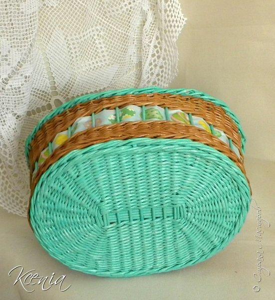 Корзинка для кулича и яиц.  фото 4