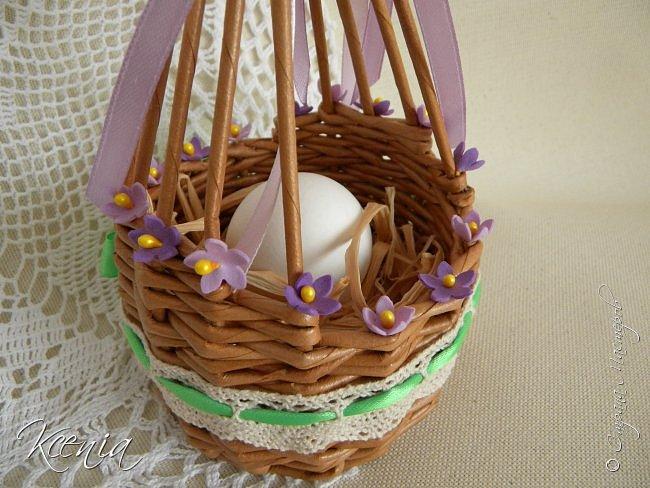Корзинка для кулича и яиц.  фото 12