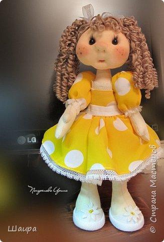 Кукла 30 см. Самостоятельно стоит ( большие ножки). фото 1