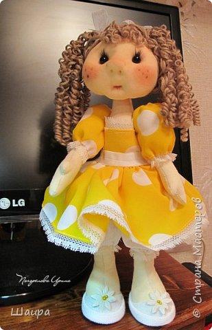 Кукла 30 см. Самостоятельно стоит ( большие ножки). фото 20
