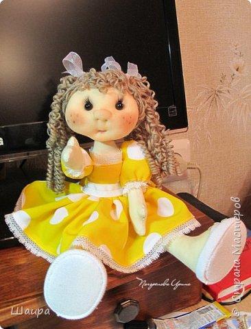 Кукла 30 см. Самостоятельно стоит ( большие ножки). фото 17