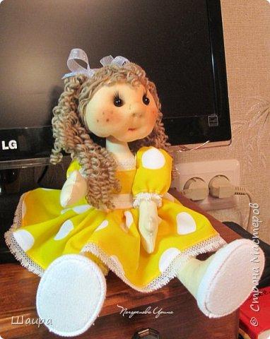 Кукла 30 см. Самостоятельно стоит ( большие ножки). фото 18