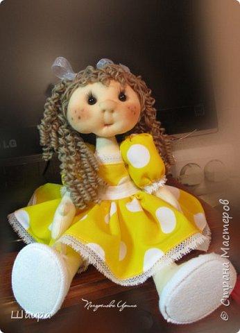 Кукла 30 см. Самостоятельно стоит ( большие ножки). фото 21