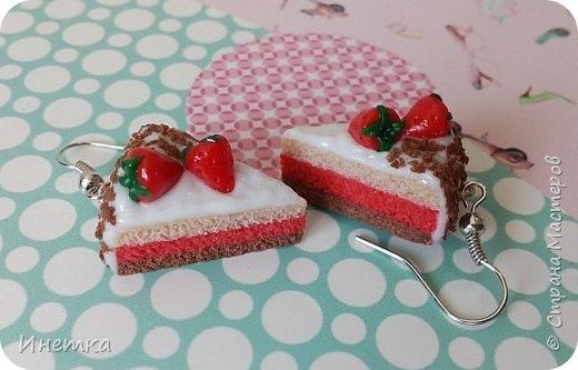 Клубничные тортики фото 1