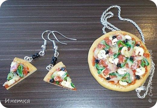 Пицца с грибами,колбасой салями и маслинами ;) Приятного аппетита ;) фото 1