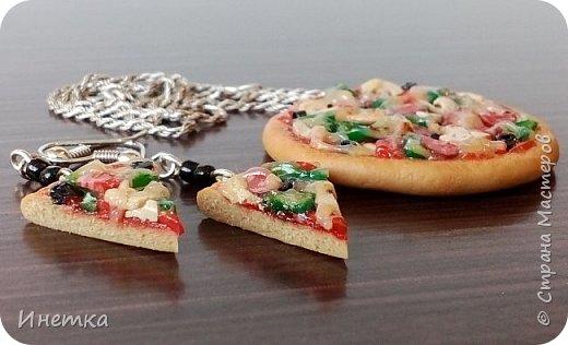 Пицца с грибами,колбасой салями и маслинами ;) Приятного аппетита ;) фото 3