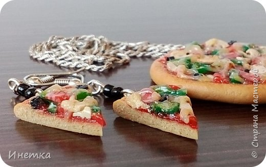 Пицца с грибами,колбасой салями и маслинами ;) Приятного аппетита ;) фото 5