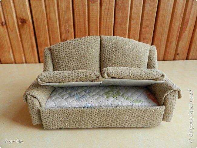 Здравствуйте жители Страны Мастеров.Пришла мысль как можно сделать раскладной диванчик.Вот что получилось. фото 4
