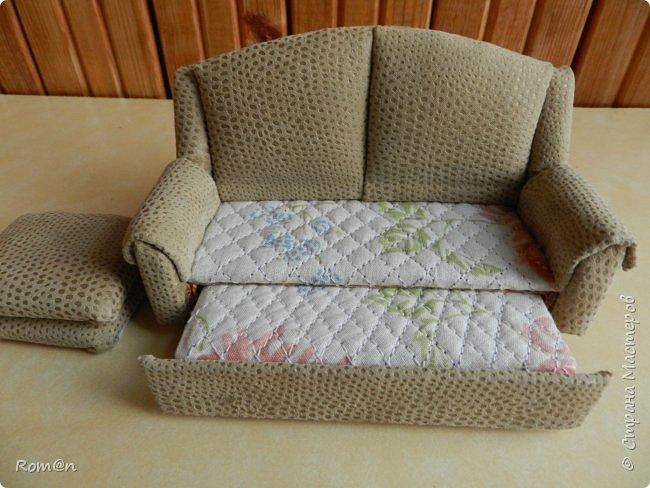 Здравствуйте жители Страны Мастеров.Пришла мысль как можно сделать раскладной диванчик.Вот что получилось. фото 6