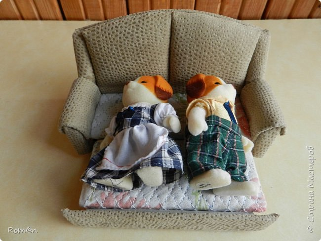 Здравствуйте жители Страны Мастеров.Пришла мысль как можно сделать раскладной диванчик.Вот что получилось. фото 84