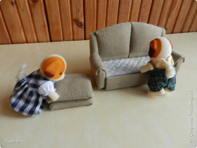 Здравствуйте жители Страны Мастеров.Пришла мысль как можно сделать раскладной диванчик.Вот что получилось. фото 80