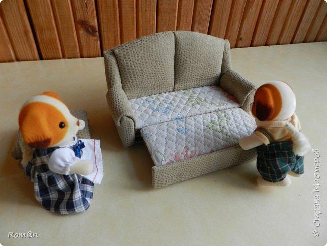 Здравствуйте жители Страны Мастеров.Пришла мысль как можно сделать раскладной диванчик.Вот что получилось. фото 82