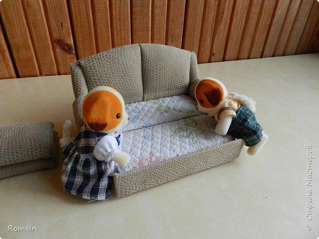 Здравствуйте жители Страны Мастеров.Пришла мысль как можно сделать раскладной диванчик.Вот что получилось. фото 83
