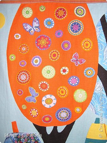 Здравствуйте, уважаемые жители Страны Мастеров. На одном из сайтов в интернете я увидела замечательные картины художницы Карлы Жерар. Вдохновившись, я принялась за работу, результатами которой хочу поделиться с вами. Размер панно 116х90см.  фото 2