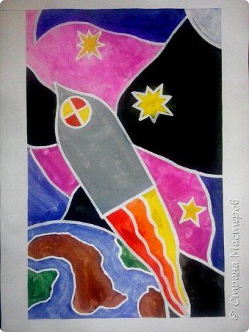 Рисунки детей 4 класса. Работа Боровиковой Анастасии. фото 3