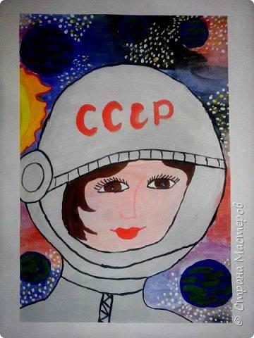 Рисунки детей 4 класса. Работа Боровиковой Анастасии. фото 14