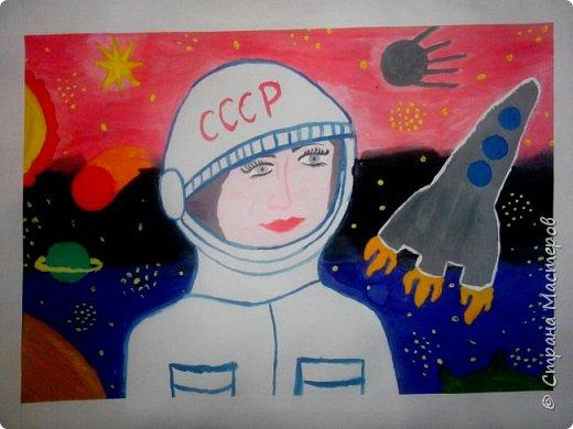 Рисунки детей 4 класса. Работа Боровиковой Анастасии. фото 12