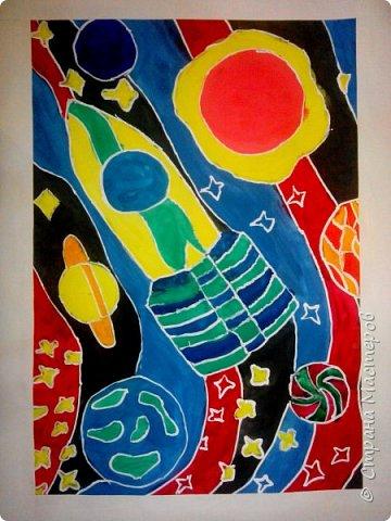 Рисунки детей 4 класса. Работа Боровиковой Анастасии. фото 4