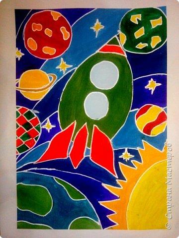 Рисунки детей 4 класса. Работа Боровиковой Анастасии. фото 7