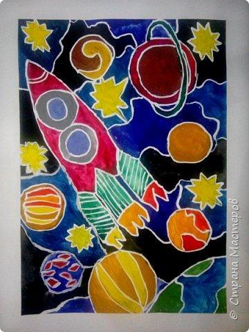 Рисунки детей 4 класса. Работа Боровиковой Анастасии. фото 8