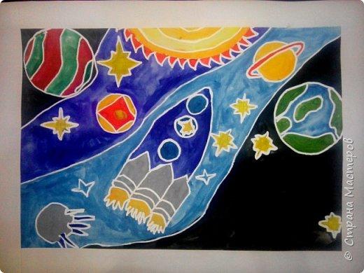 Рисунки детей 4 класса. Работа Боровиковой Анастасии. фото 9