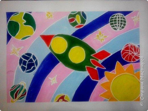 Рисунки детей 4 класса. Работа Боровиковой Анастасии. фото 10