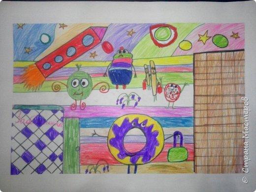 Рисунки детей 4 класса. Работа Боровиковой Анастасии. фото 20
