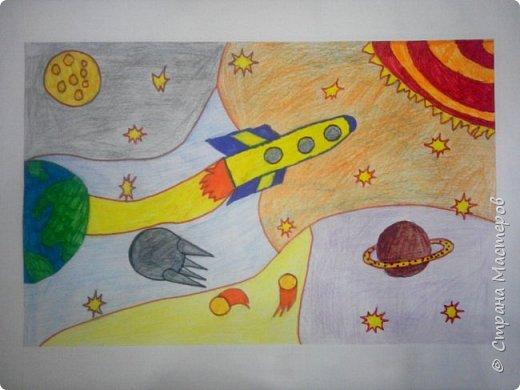 Рисунки детей 4 класса. Работа Боровиковой Анастасии. фото 22