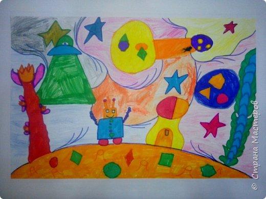 Рисунки детей 4 класса. Работа Боровиковой Анастасии. фото 23