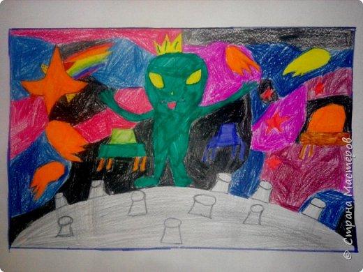 Рисунки детей 4 класса. Работа Боровиковой Анастасии. фото 25