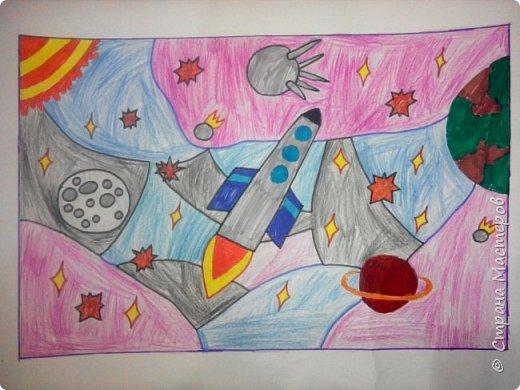 Рисунки детей 4 класса. Работа Боровиковой Анастасии. фото 26