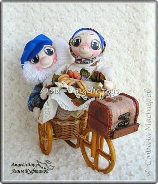 Семейная пара хранителей домашнего очага и благополучия: дедушка Егор и бабушка Пелагея. фото 3
