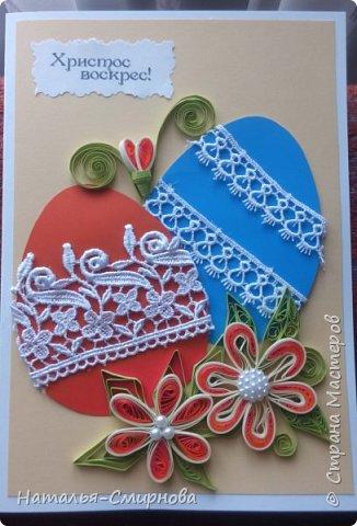 Добрый вечер! Сегодня я к Вам с пасхальными открытками. Некоторые идеи нашла на просторах интернета. фото 1