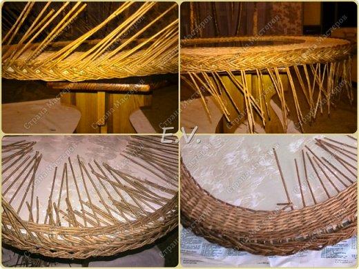 Доброго времени суток, гостям и жителям Страны мастеров!!! Хочу представить вашему вниманию, мою новую идею по изготовлению столика своими руками с использованием плетения из бумажных трубочек. фото 7